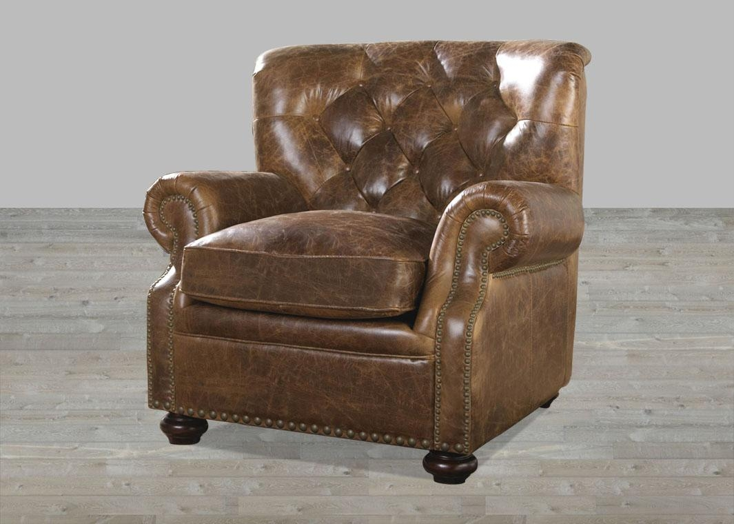 Brompton Leather Vintage Sofa Throughout Brompton Leather Sectional Sofas (View 14 of 20)