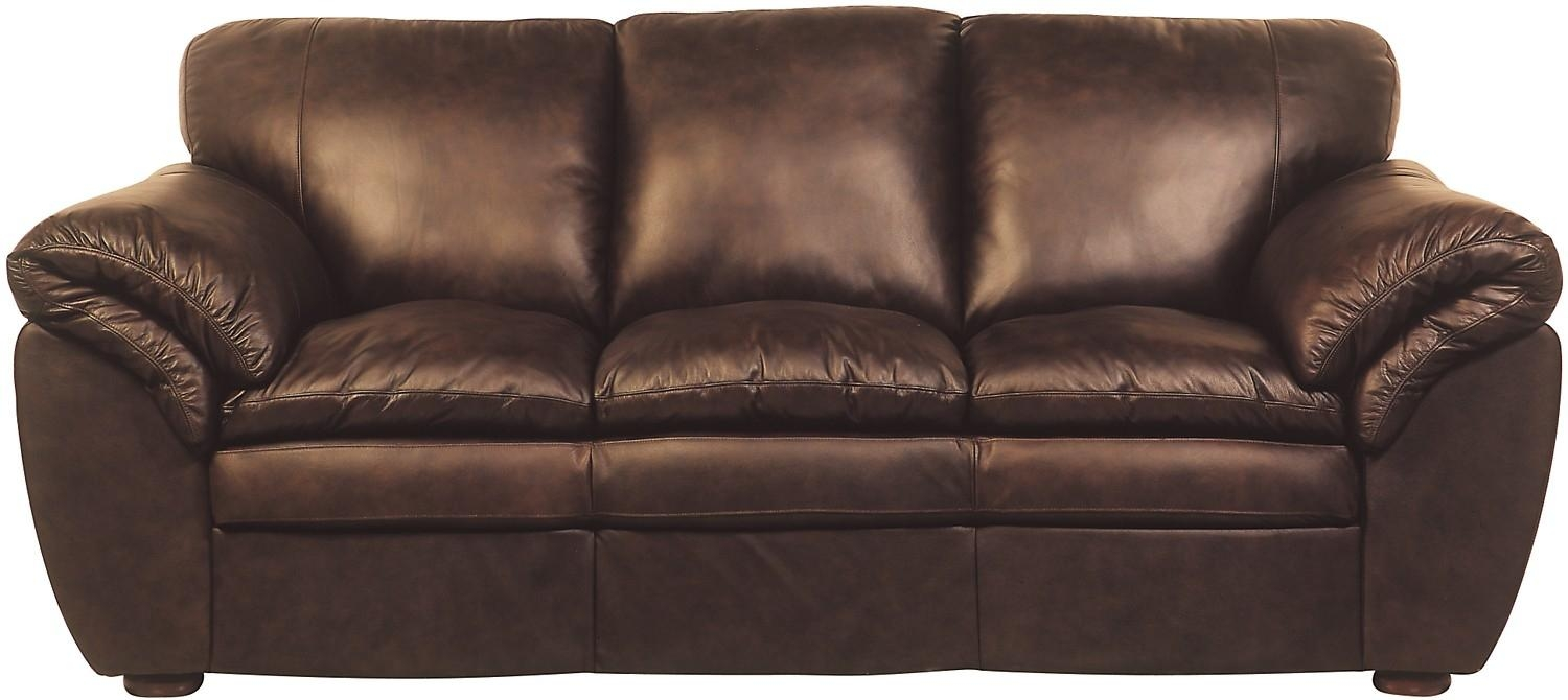 Featured Photo of The Brick Leather Sofa