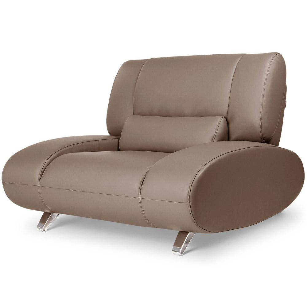 Brown Aspen Leather Sofa Set With Loveseat And Chair | Zuri Furniture Regarding Aspen Leather Sofas (View 5 of 20)