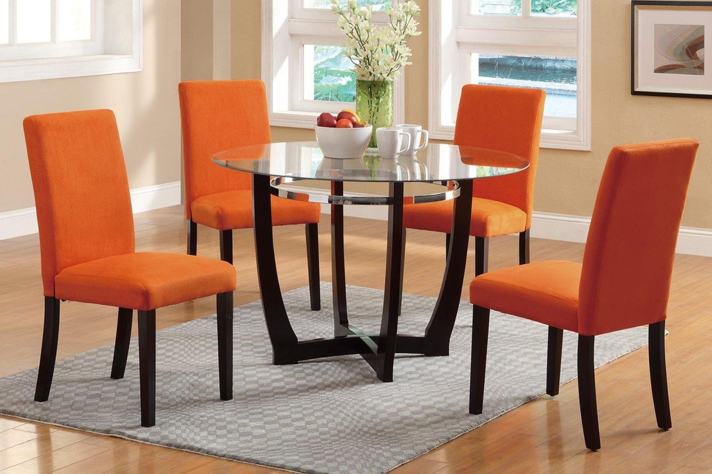 Brown Glass Dining Table – Steal A Sofa Furniture Outlet Los Regarding Dining Table With Sofa Chairs (Image 4 of 20)