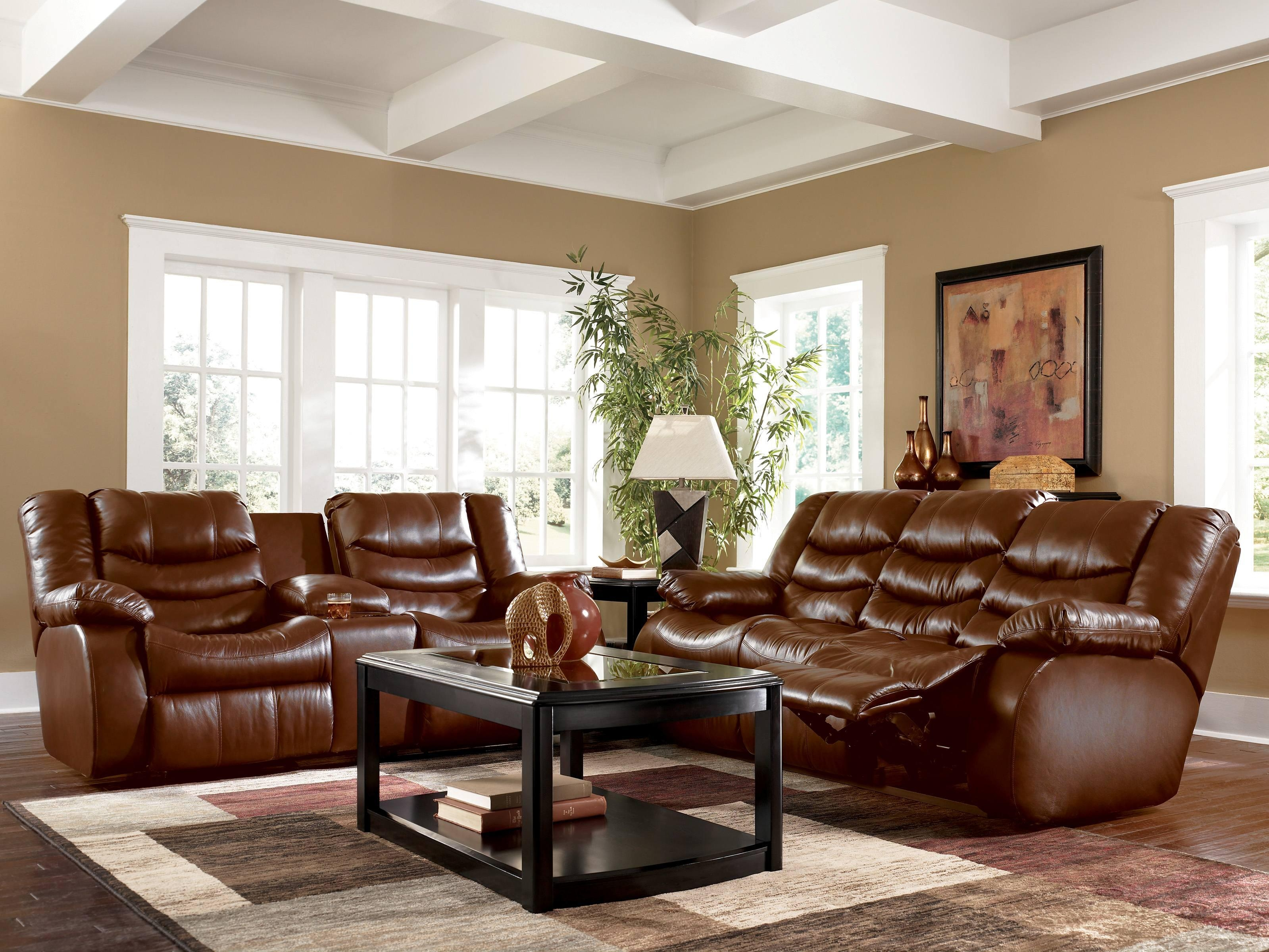 Brown Leather Couch Decor #788 In Brown Sofa Decors (Image 10 of 20)