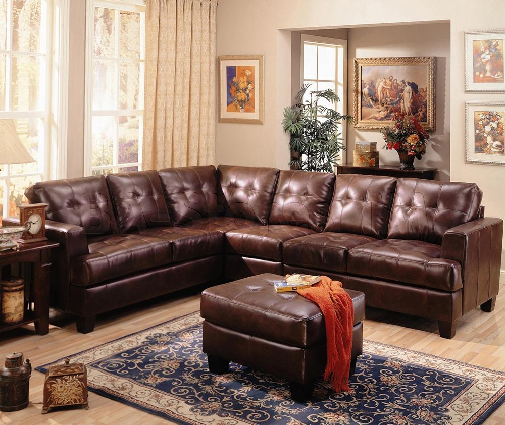 Brown Leather Living Room Chairs Living Room Leather Furniture On For Black Sofas For Living Room (Image 12 of 20)