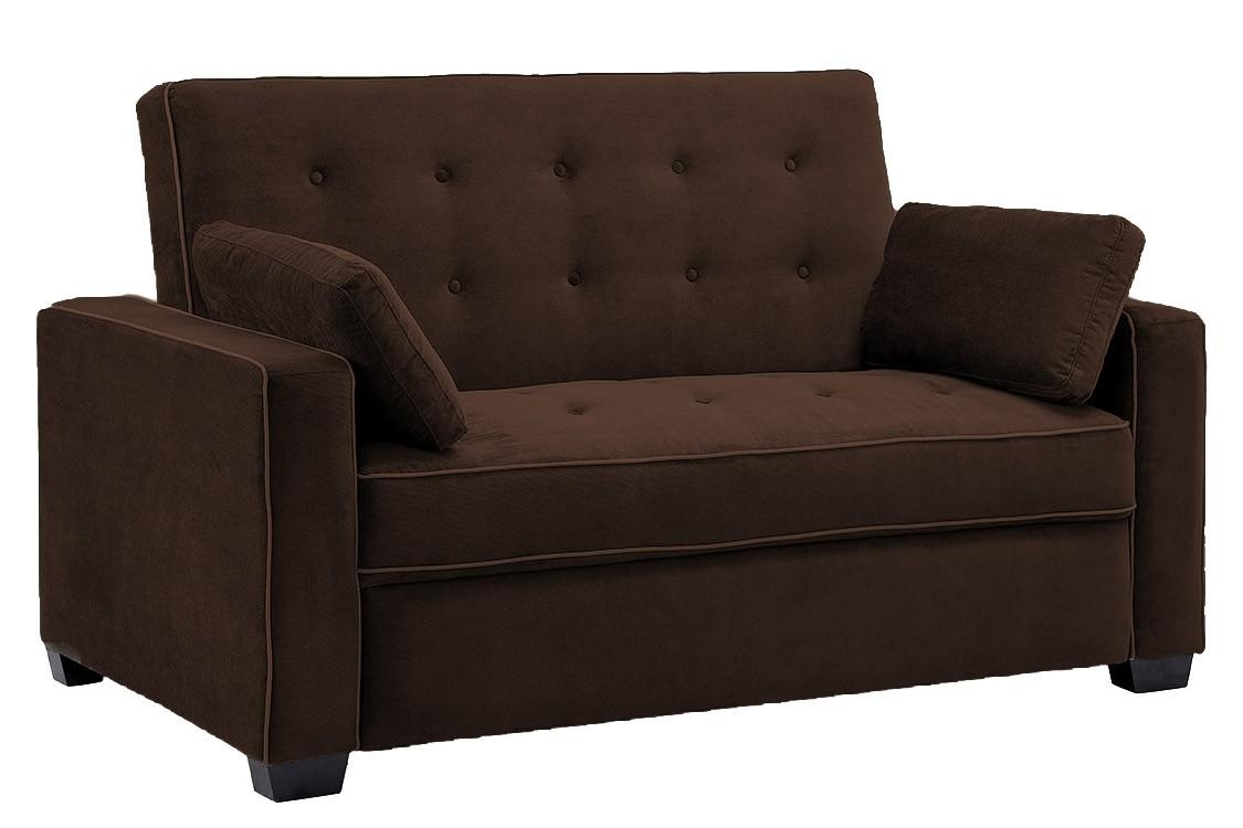 Brown Sofa Bed Futon Couch | Jacksonville Futon | The Futon Shop With Regard To Convertible Futon Sofa Beds (Image 7 of 20)