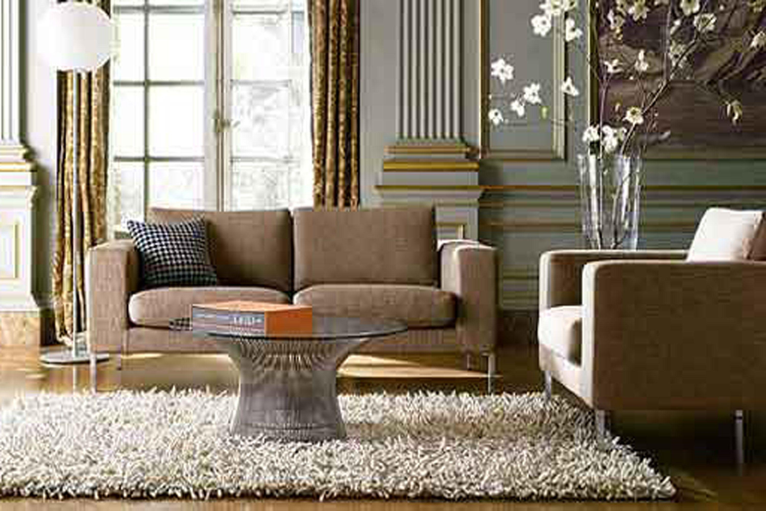 Brown Sofa Sets Look Nice In Living Room With White Flower Decor Throughout Brown Sofa Decors (Image 12 of 20)