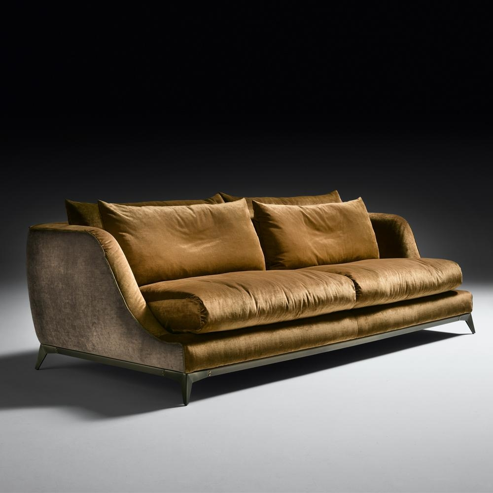 Brown Velvet Sofa With Inspiration Photo 10550 | Kengire For Brown Velvet Sofas (View 4 of 20)