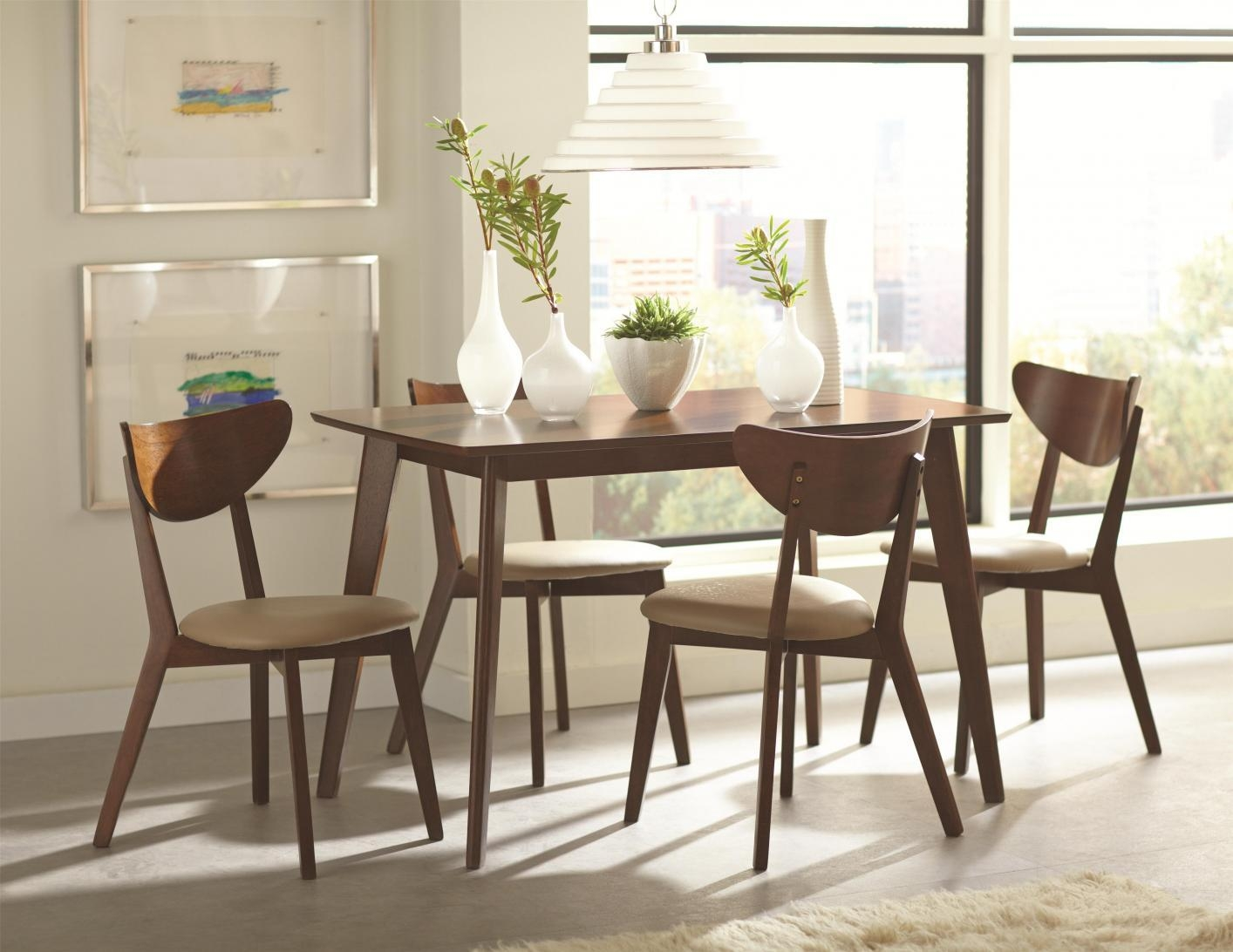 Brown Wood Dining Chair – Steal A Sofa Furniture Outlet Los Angeles Ca Intended For Dining Sofa Chairs (View 8 of 20)