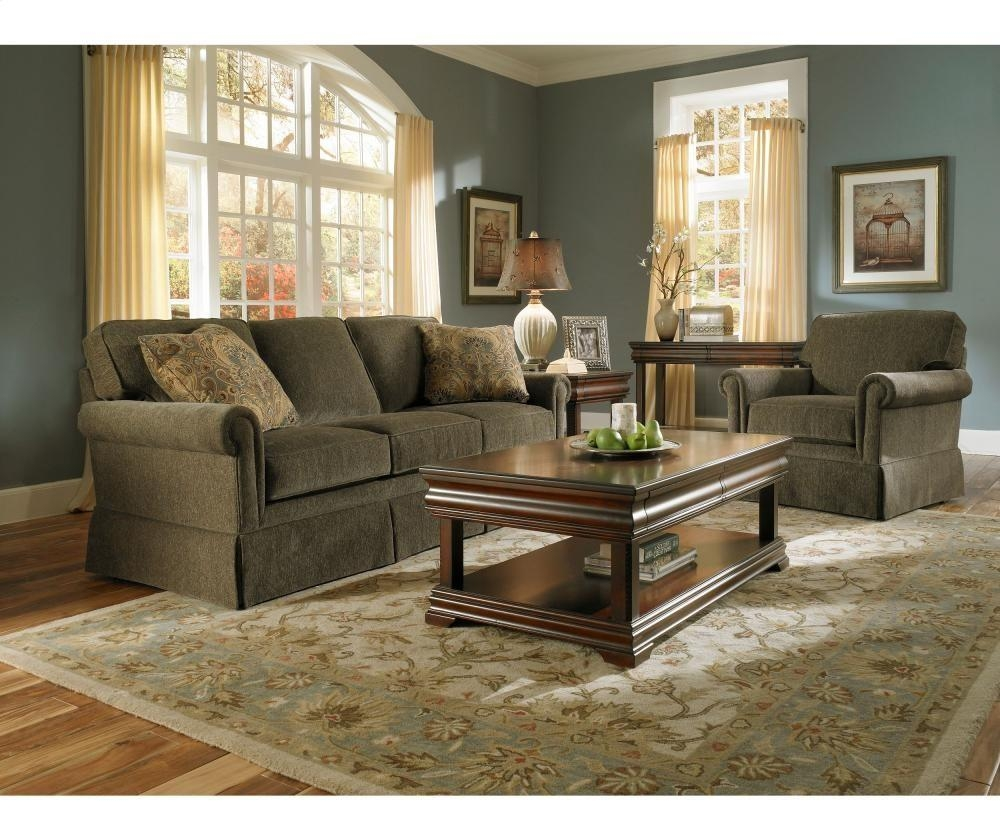 Broyhill Furniture Audrey Sofa | 37623 | Sofas | Plourde Furniture Within Broyhill Harrison Sofas (Image 3 of 20)