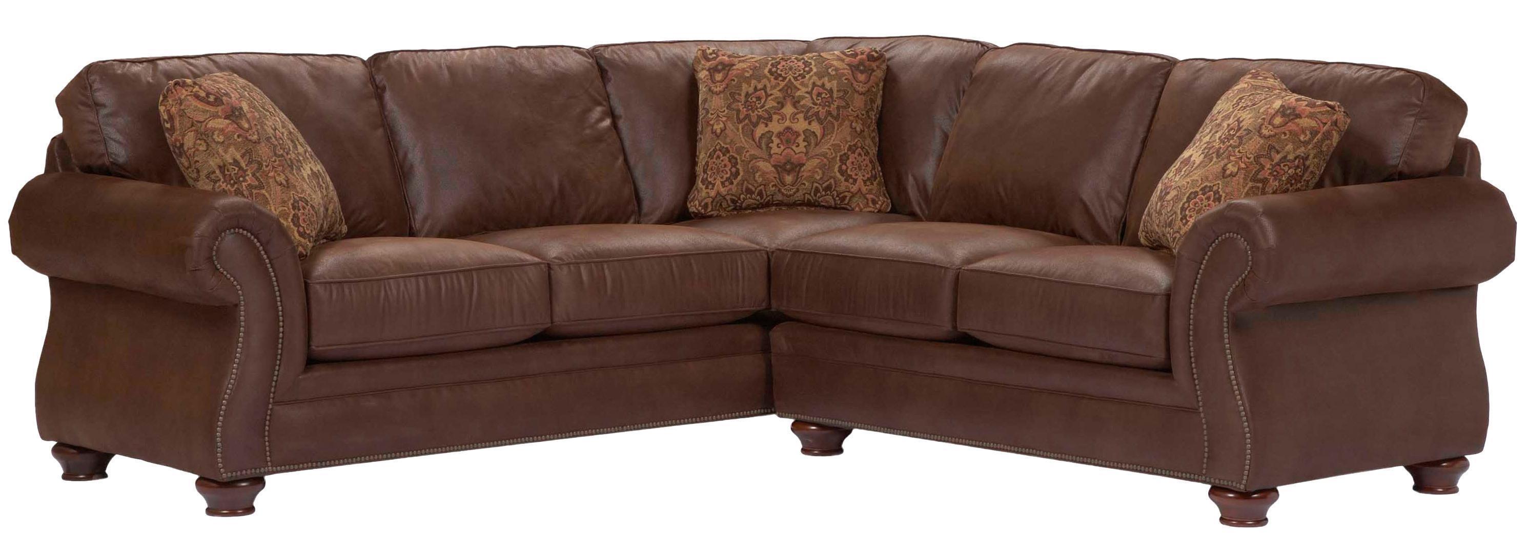 Broyhill Furniture Laramie 2 Piece Corner Sectional Sofa – Ahfa Regarding Broyhill Sectional Sofa (View 7 of 15)