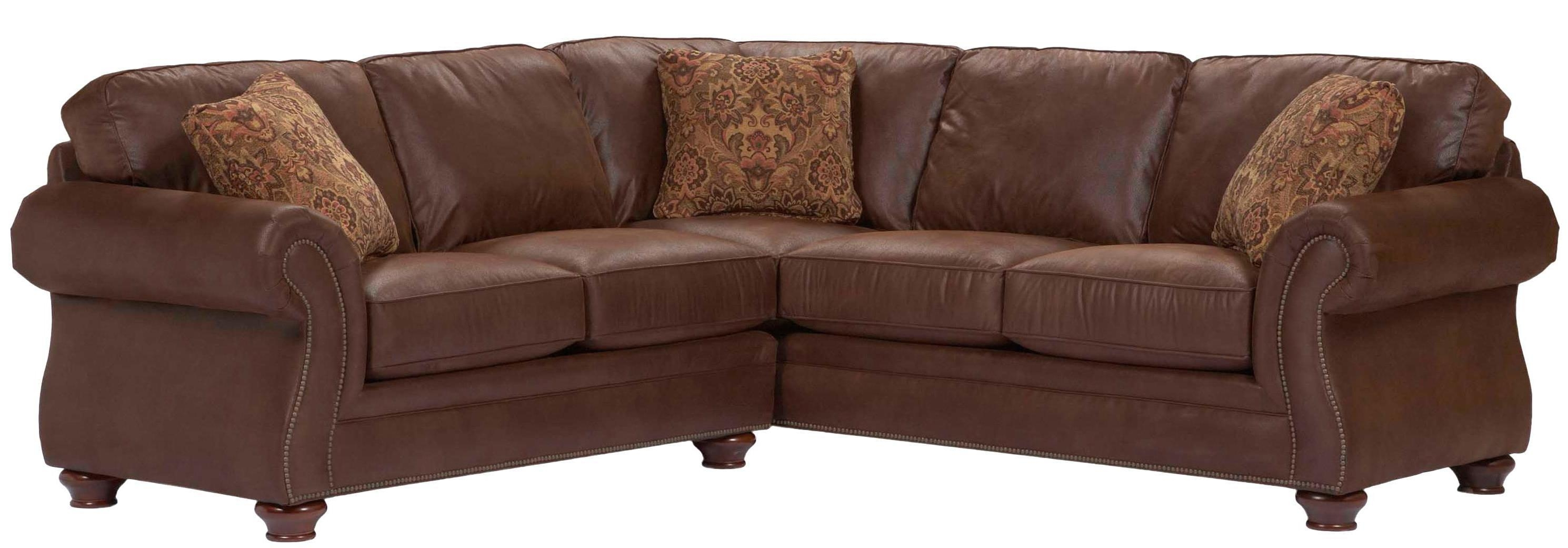 Broyhill Furniture Laramie 2 Piece Corner Sectional Sofa – Lindy's Throughout Broyhill Sectional Sofa (Image 3 of 15)