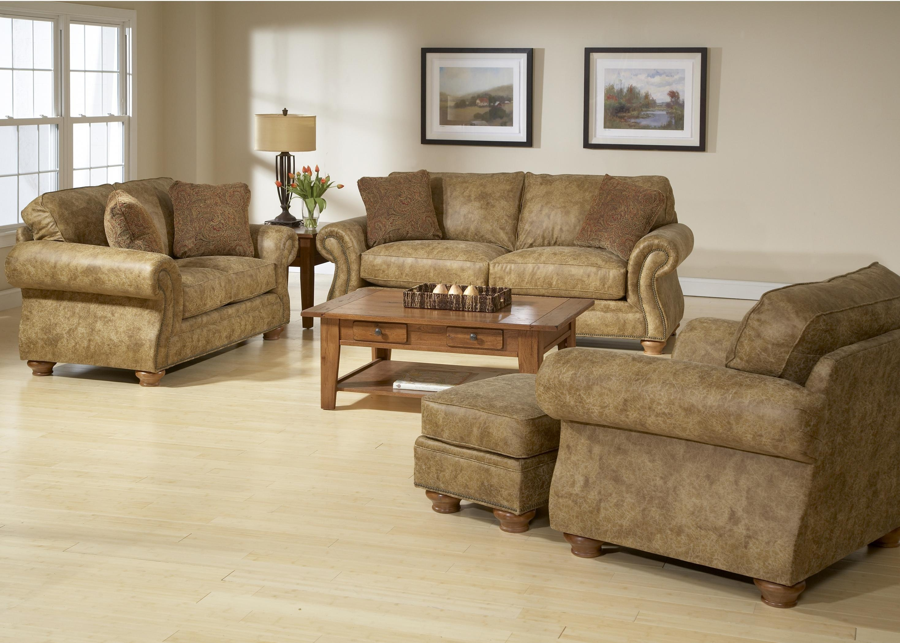 Broyhill Furniture Laramie 3 Piece Sectional Sofa | Broyhill Of Intended For Broyhill Sofas (Image 8 of 20)