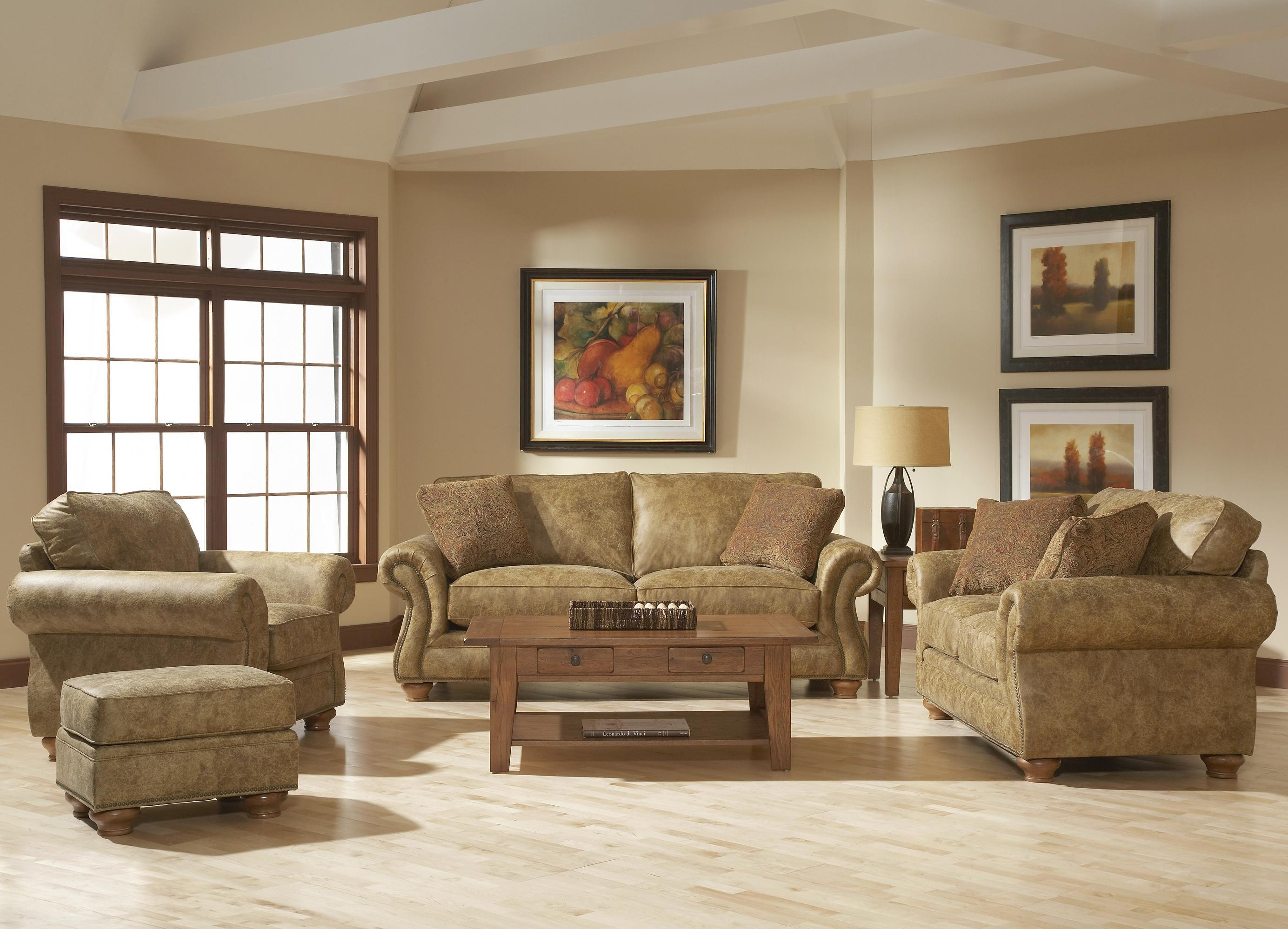 Broyhill Furniture Laramie 3 Piece Wedge Sectional Sofa – Wayside With Broyhill Sectional Sofa (Image 6 of 15)