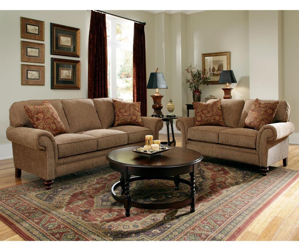 Broyhill Furniture Larissa Sofa | 61123 | Sofas | Plourde Inside Broyhill Harrison Sofas (Image 9 of 20)
