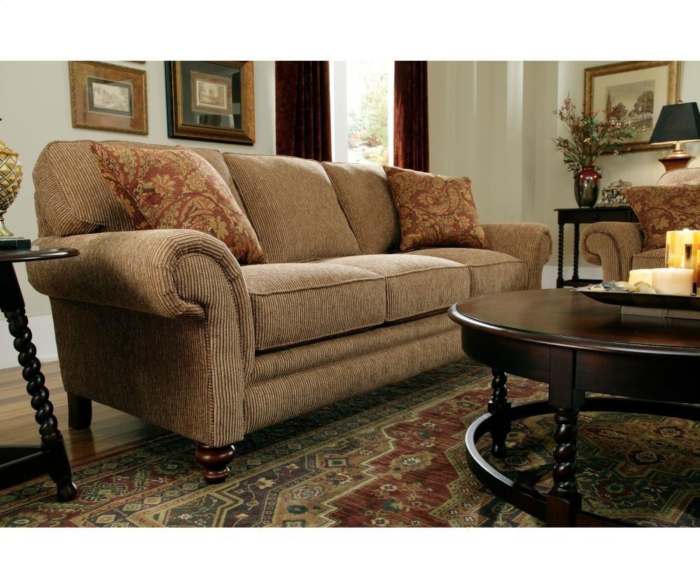 Broyhill Furniture Larissa Sofa | 61123 | Sofas | Plourde Intended For Broyhill Harrison Sofas (Image 10 of 20)