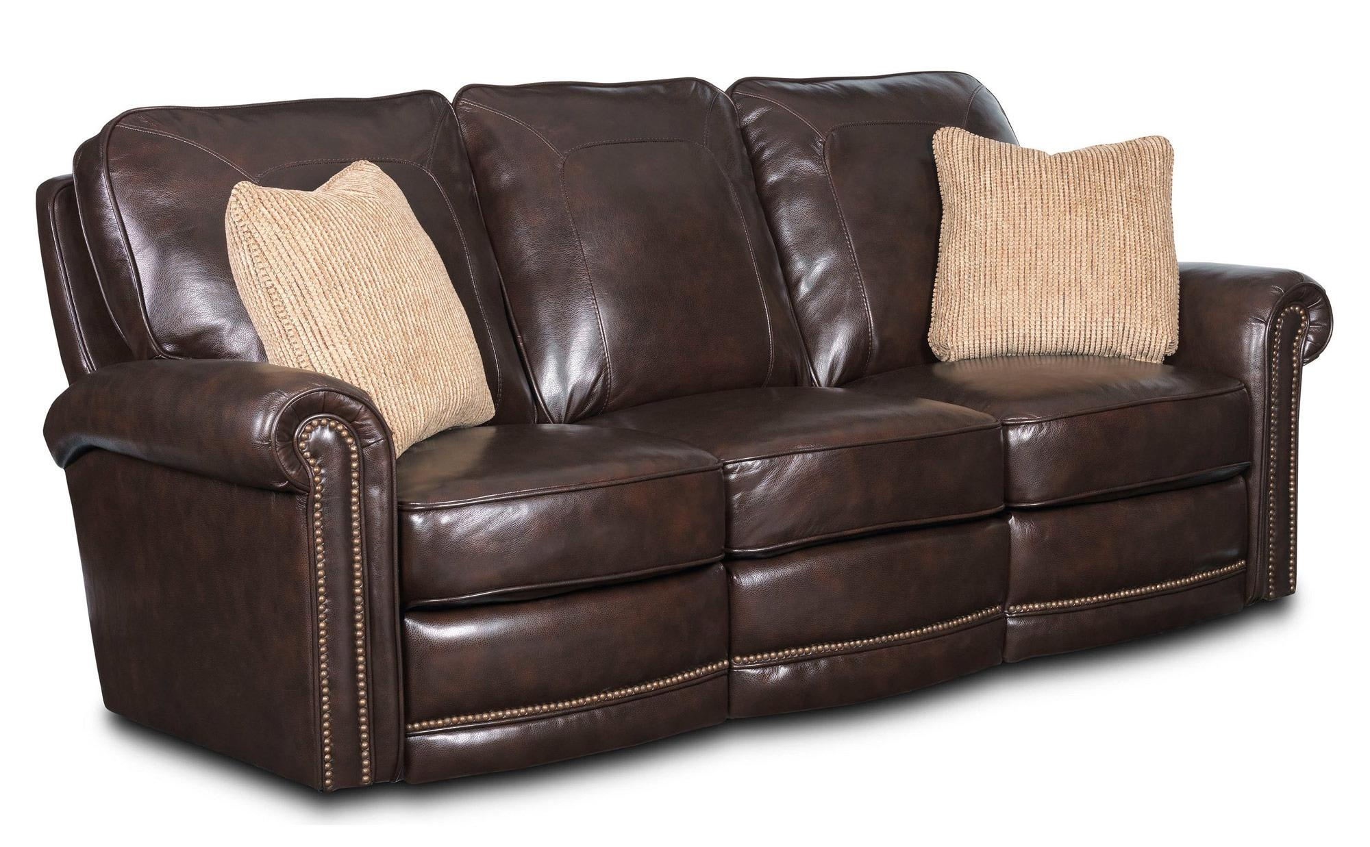 Broyhill Hamilton Leather Sofa | Sofas Decoration Intended For Broyhill Reclining Sofas (Image 7 of 20)