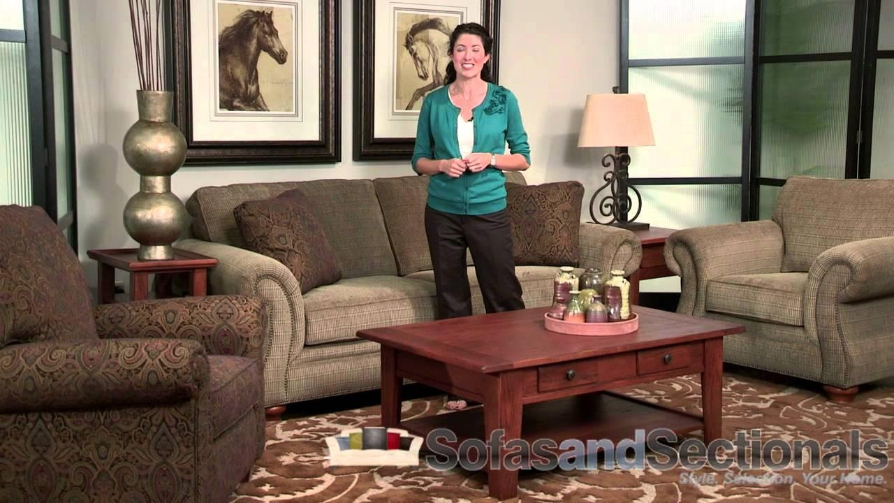 Broyhill Laramie Sofa Group – Youtube Regarding Broyhill Larissa Sofas (Image 4 of 20)