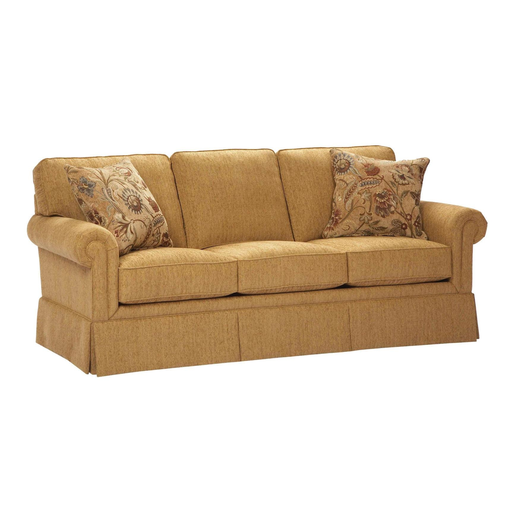 Broyhill Tanners Choice Zachary Leather Sofa Bh L7902 3 With Broyhill Perspectives Sofas (Image 12 of 20)