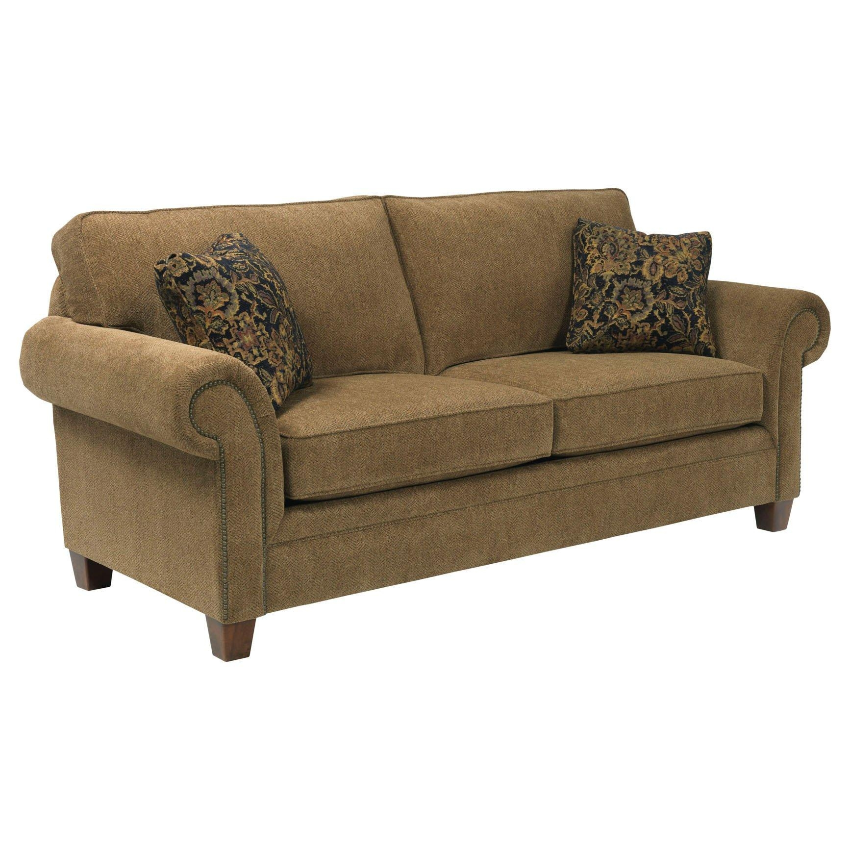Broyhill Tanners Choice Zachary Leather Sofa Bh L7902 3 Within Broyhill Perspectives Sofas (Image 14 of 20)