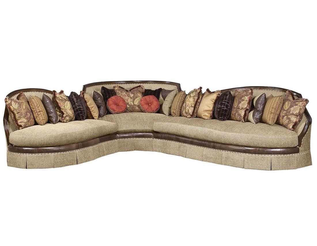 Bt 179 Italian Traditional Sectional Sofa | Traditional Sofas In Traditional Sectional Sofas (View 3 of 20)