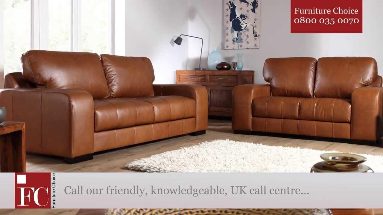 Buffalo Aniline Leather Sofas From Furniture Choice – Youtube Regarding Aniline Leather Sofas (Image 10 of 20)