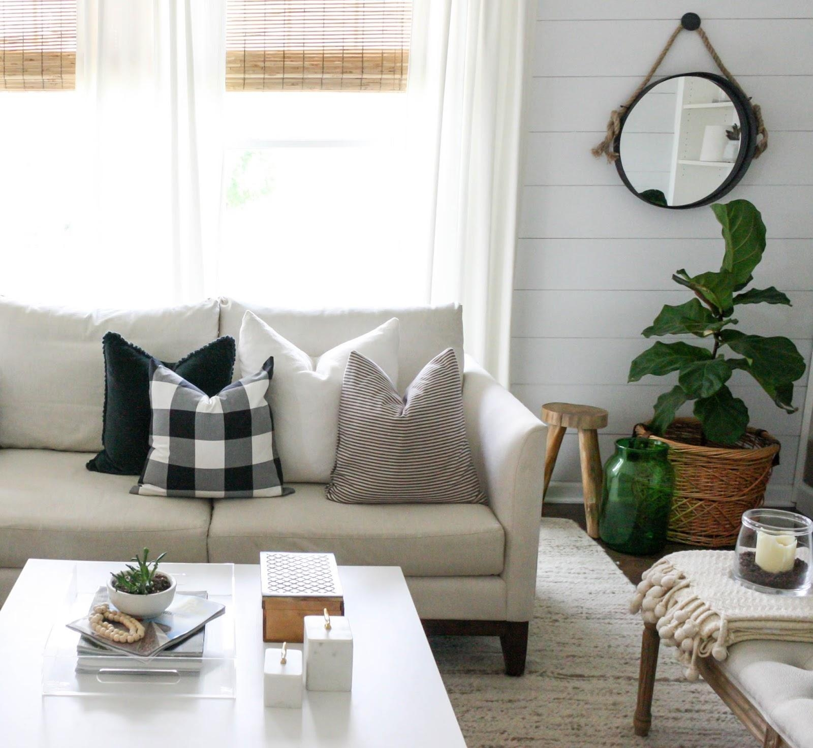 Buffalo Check And Ikea | House Seven Design+Build With Buffalo Check Sofas (Image 8 of 20)