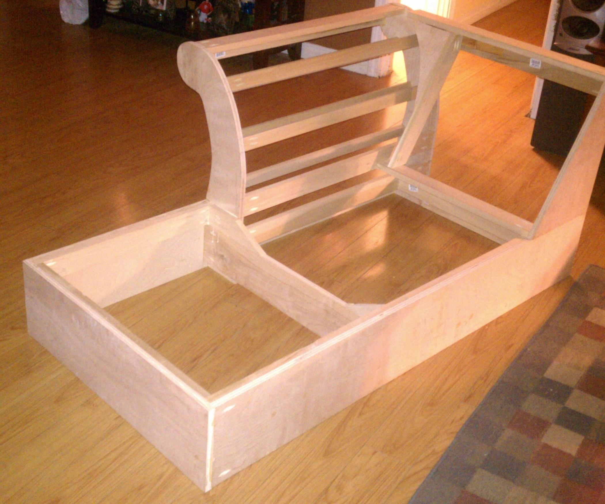 Build A Chaise Frame From Scratch: 5 Steps (With Pictures) In Diy Sectional Sofa Frame Plans (View 9 of 15)