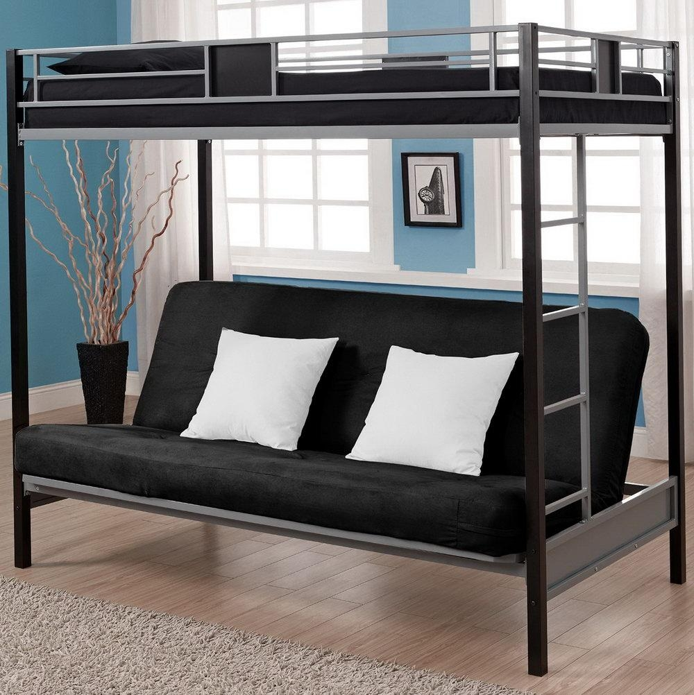 Bunk Bed With Sofa Bed Underneath | Home Design Ideas Within Bunk Bed With  Sofas Underneath