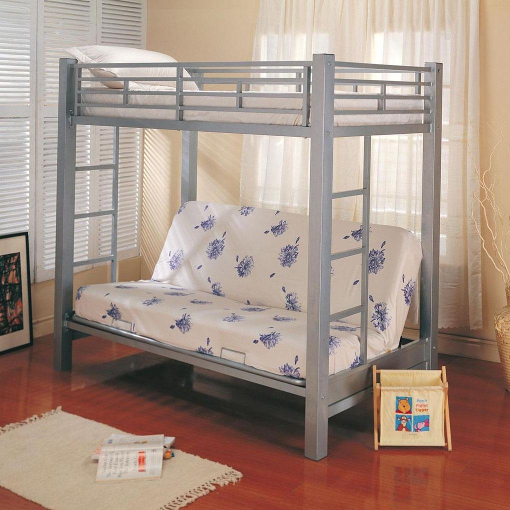 Bunk Beds : Futon With Bunk Bed On Top Futon Loft Bed Kmart Bunk With Regard To Kmart Futon Beds (Image 3 of 20)