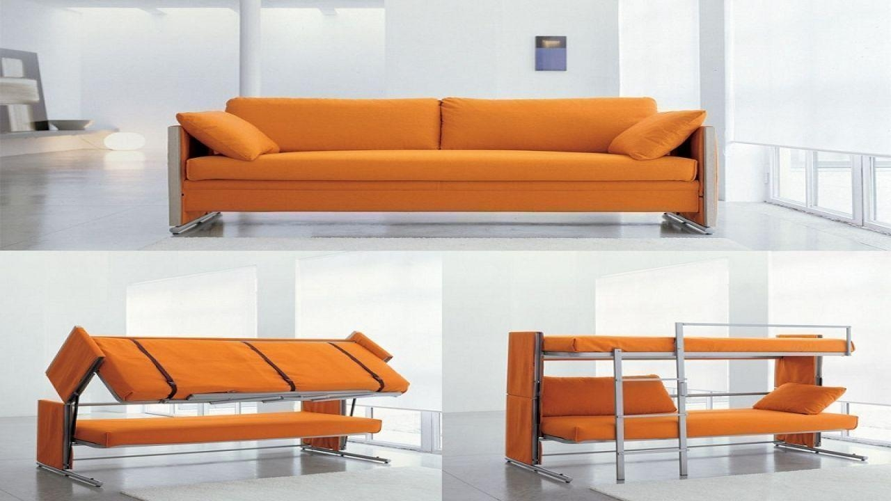 Bunk Beds : Pull Out Bunk Bed Couch Bunk Bedss Within Sofa Bunk Beds (Image 3 of 20)