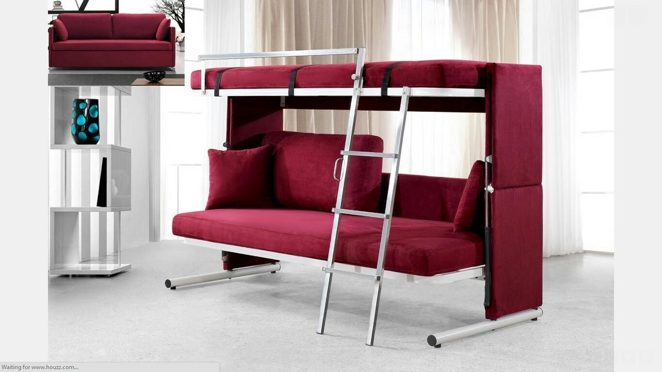 20 collection of sofas converts to bunk bed sofa ideas. Black Bedroom Furniture Sets. Home Design Ideas