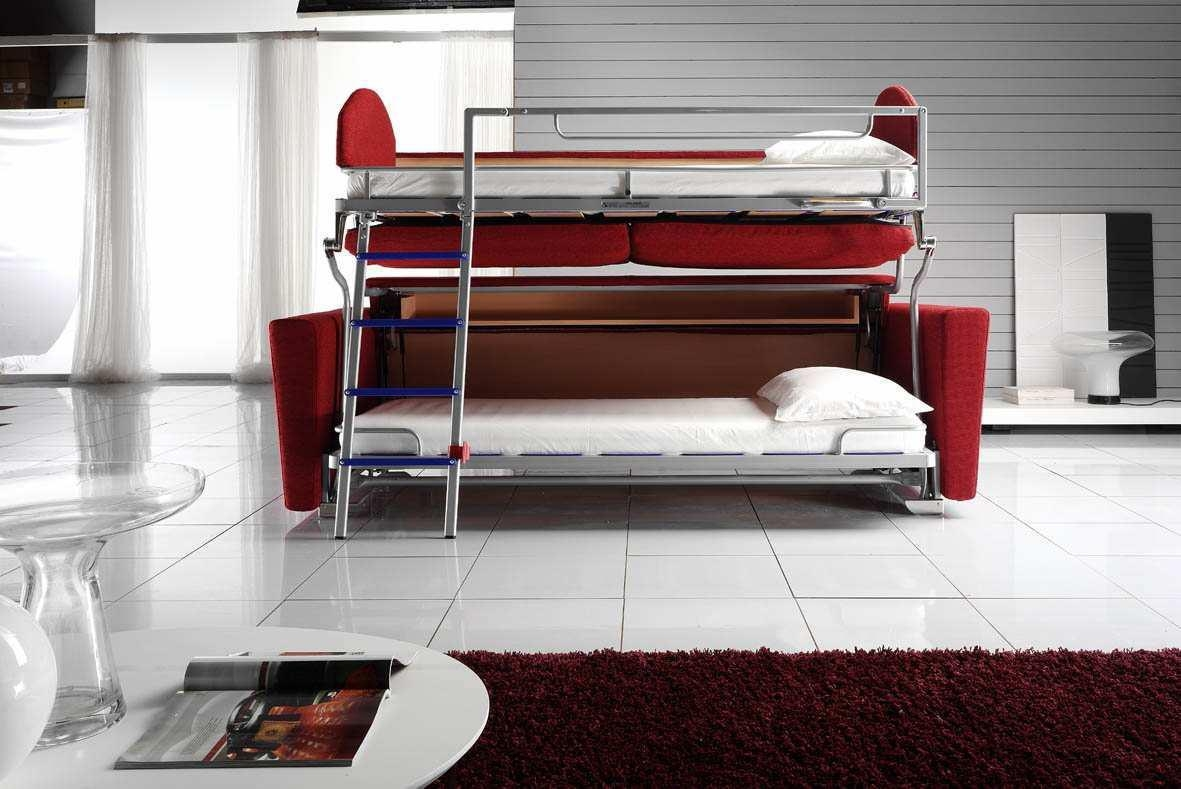 Bunk Beds : Twin Bed Pull Out Bed Bunk Bed With Pull Out Bed Couch For Sofas Converts To Bunk Bed (Image 9 of 20)