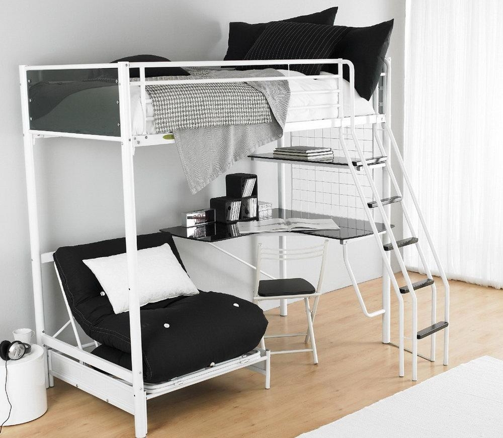 Bunk Beds With Desk And Sofa Bed | Home Design Ideas For Sofa Bunk Beds (View 17 of 20)