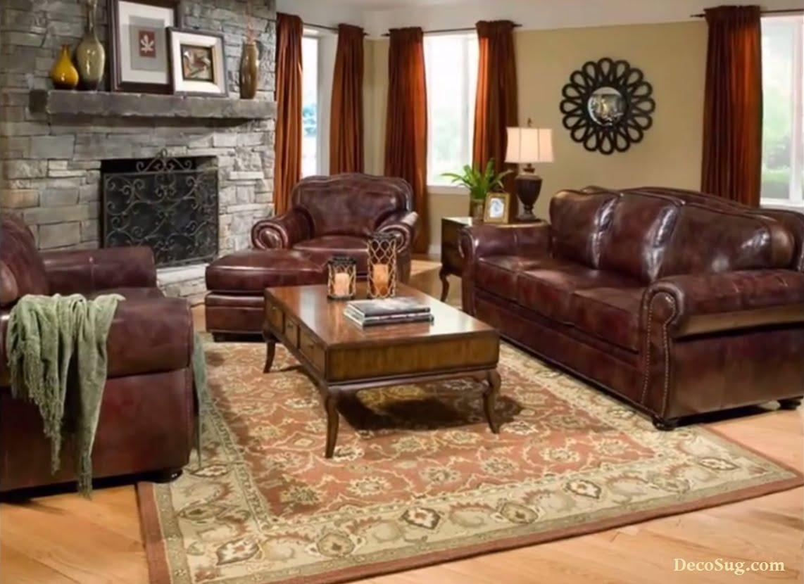 Burgundy Leather Sofa Set | Sofa Gallery | Kengire Regarding Burgundy Leather Sofa Sets (View 12 of 20)