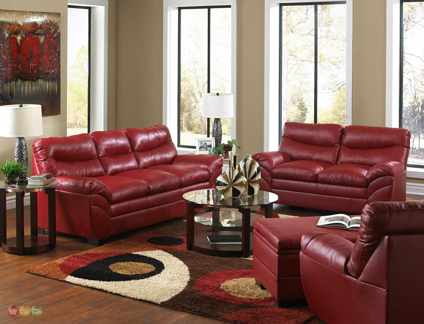 Burgundy Leather Sofa Set With Ideas Hd Gallery 37111 | Kengire With Burgundy Leather Sofa Sets (View 18 of 20)