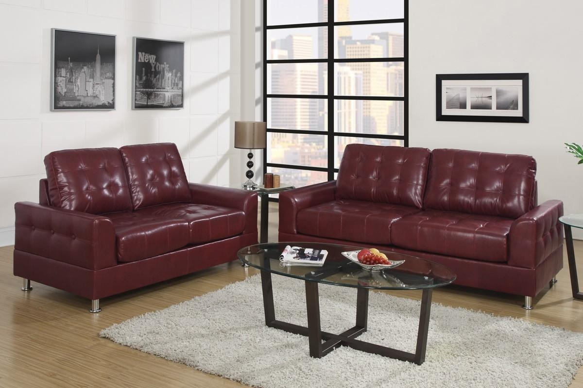 Burgundy Leather Sofa | Tehranmix Decoration With Burgundy Leather Sofa Sets (View 20 of 20)