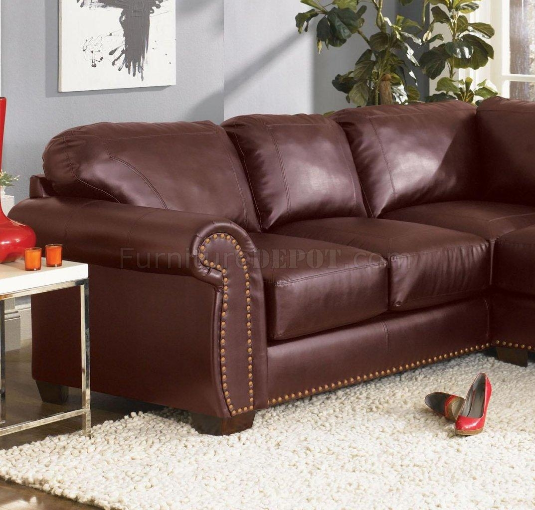 Burgundy Sectional Sofa With Ideas Hd Photos 16513 | Kengire Within Burgundy Sectional Sofas (Image 3 of 20)