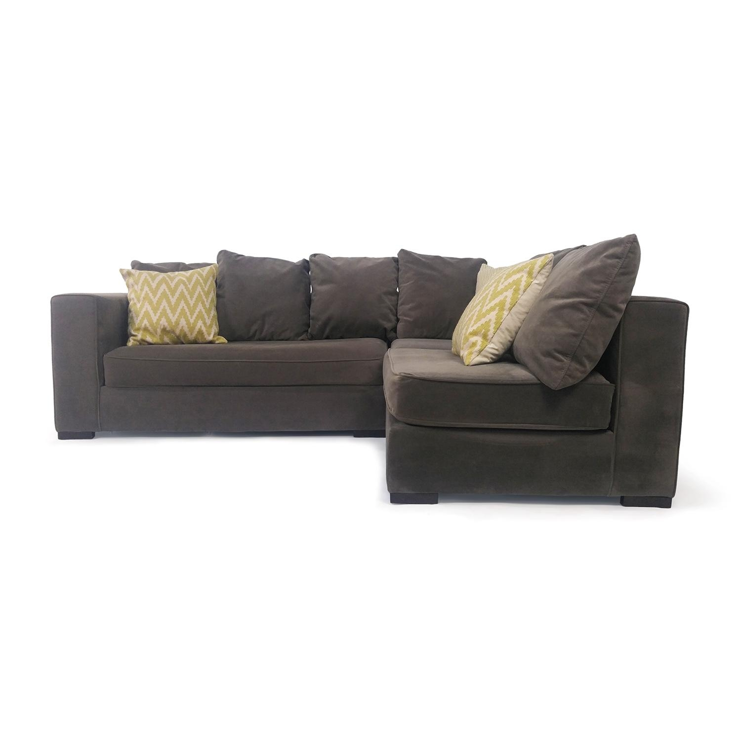 Buy Second Hand Sectionals For $500 $1000 Pertaining To West Elm Sectionals (Image 3 of 20)