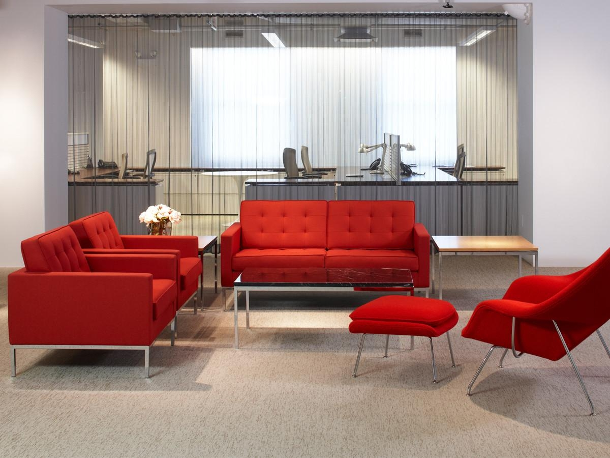 Buy The Knoll Studio Knoll Florence Knoll Two Seater Sofa At Nest For Florence Knoll Wood Legs Sofas (Image 3 of 20)