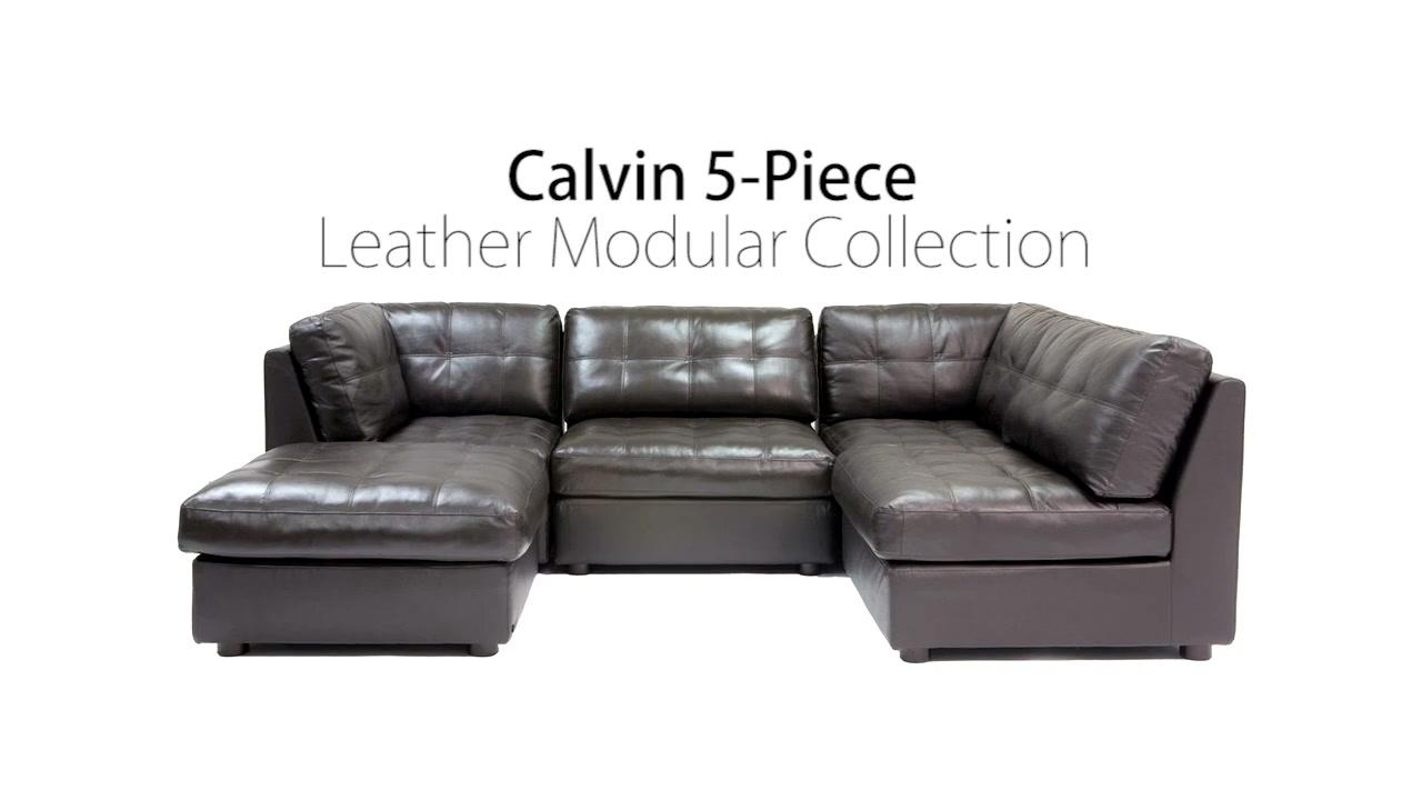 Calvin Sectional » Abbyson Living – Video Gallery With Regard To Abbyson Living Sectionals (View 12 of 15)