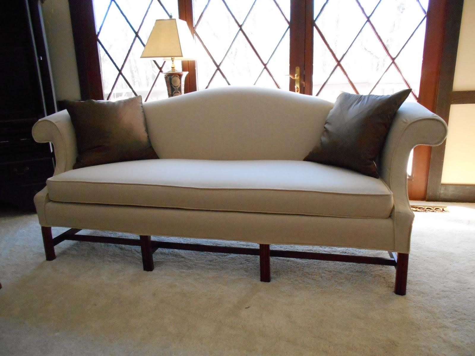 Camel Back Sofa Within Camelback Sofa Slipcovers (View 14 of 19)