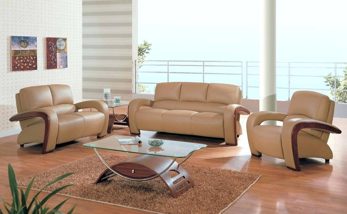 2019 Latest Camel Colored Leather Sofas