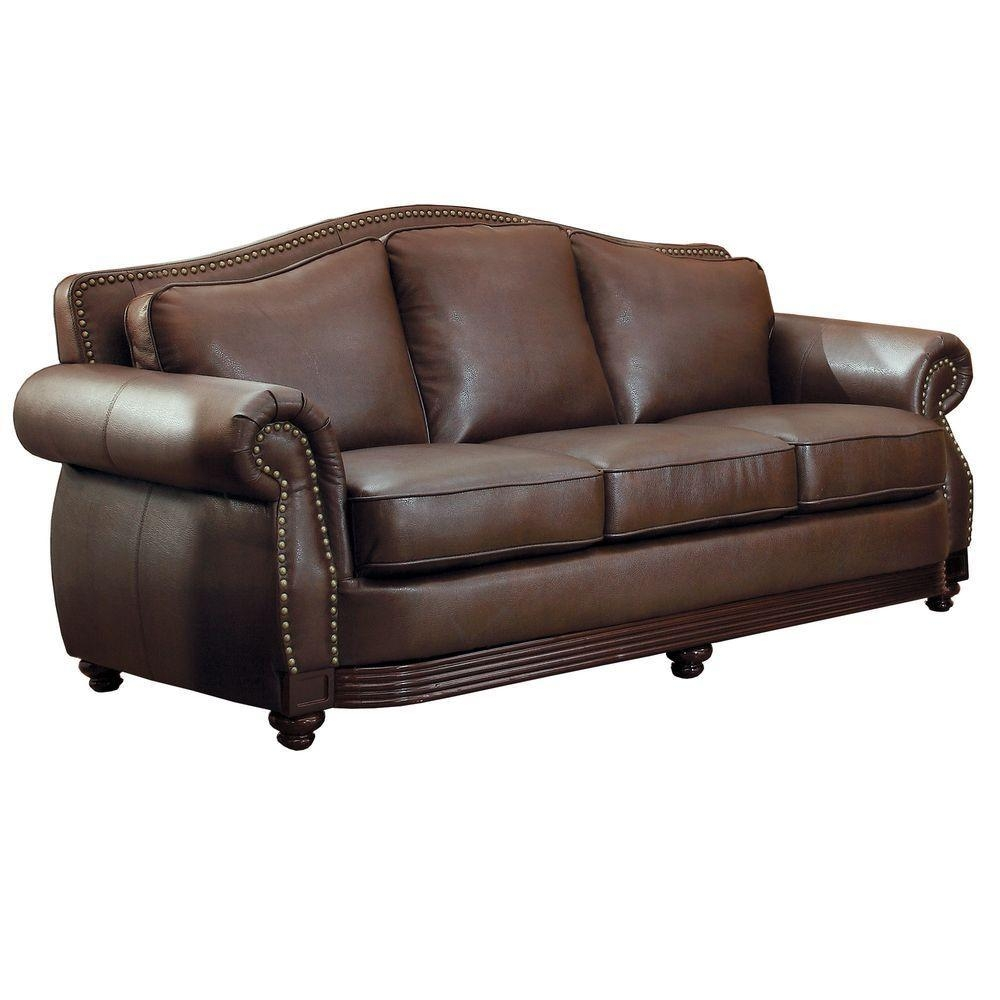 20 Choices Of White Leather Sofas: 20 Top Camelback Leather Sofas