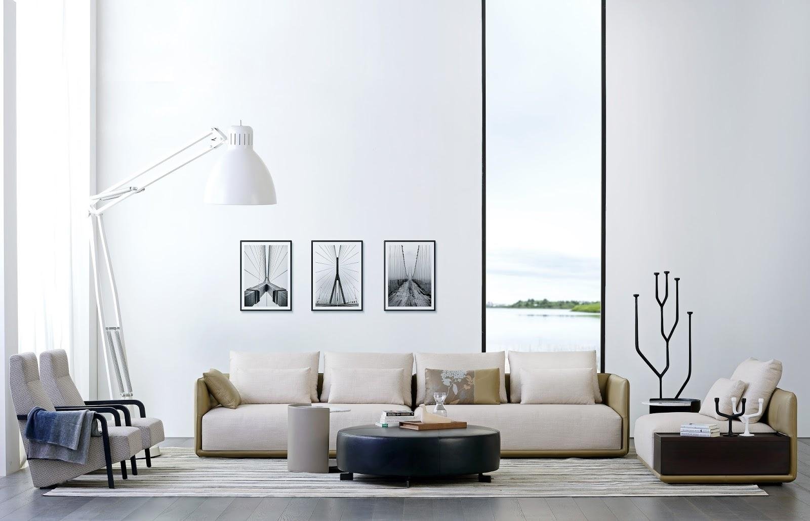 Camerich Contemporary Furniture – The White Approach Inside Camerich Sofas (Image 4 of 19)