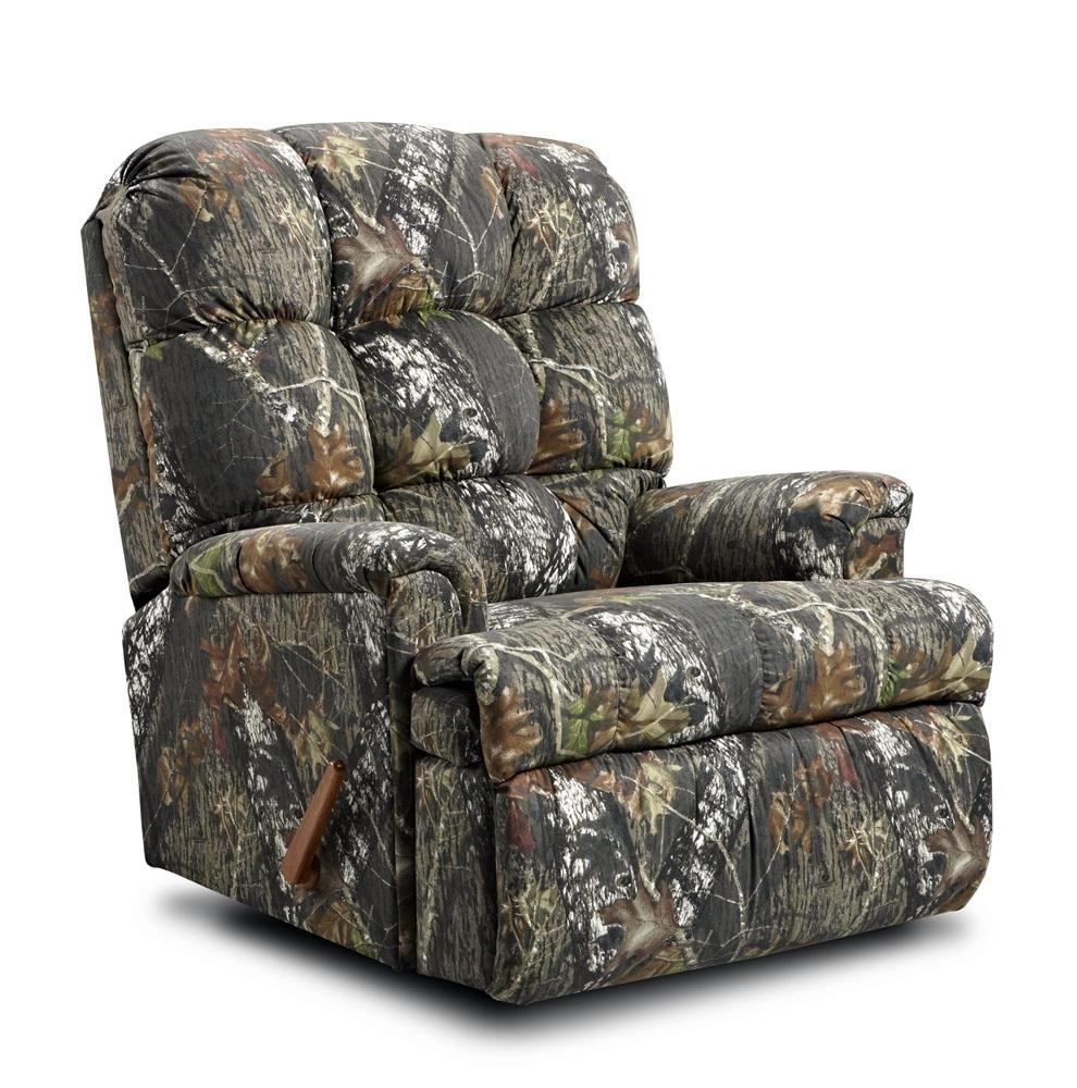Camo Lounge Chair: 20 Inspirations Camo Reclining Sofas