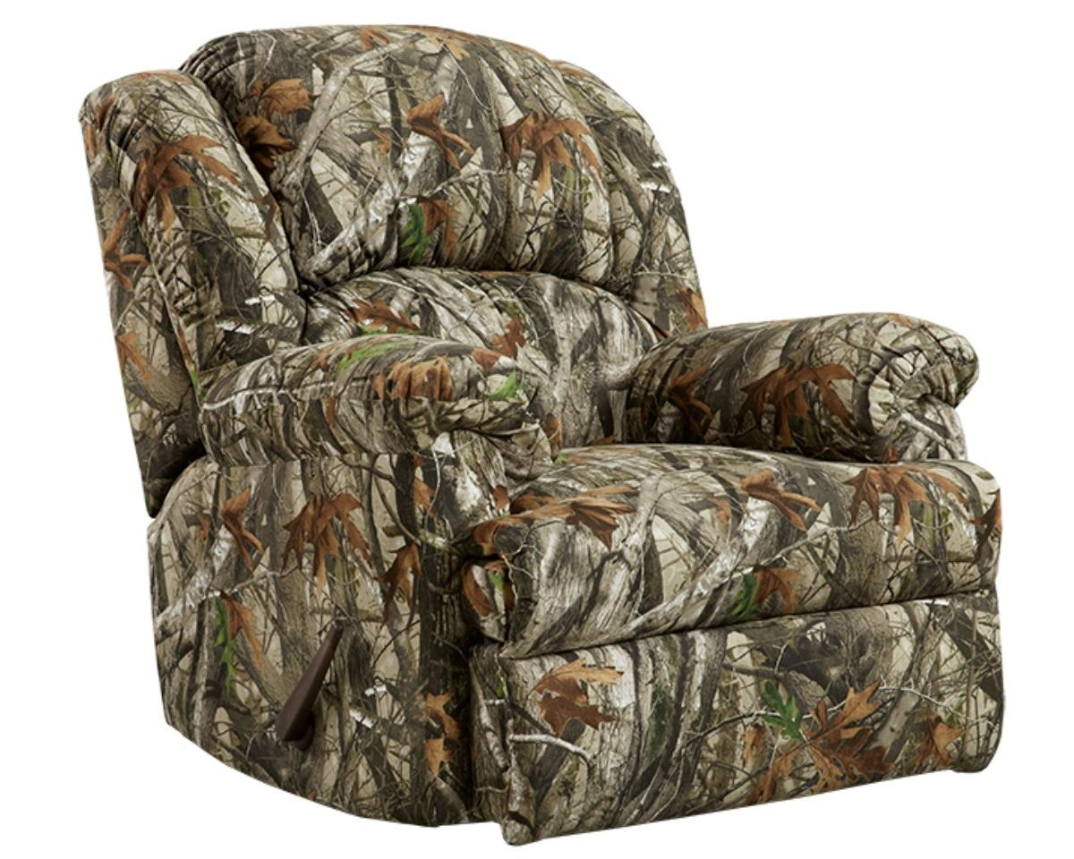 Camo Reclining Sofa With Regard To Camo Reclining Sofas (Image 8 of 20)