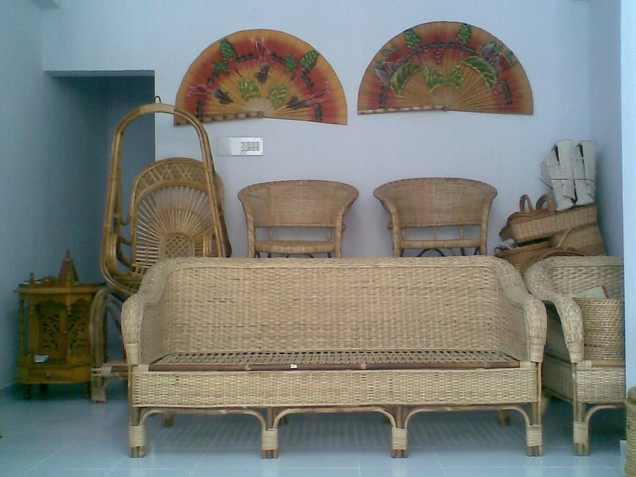 Cane Furniture Online Delhi | Bedroom And Living Room Image Intended For Ken Sofa Sets (Image 9 of 20)