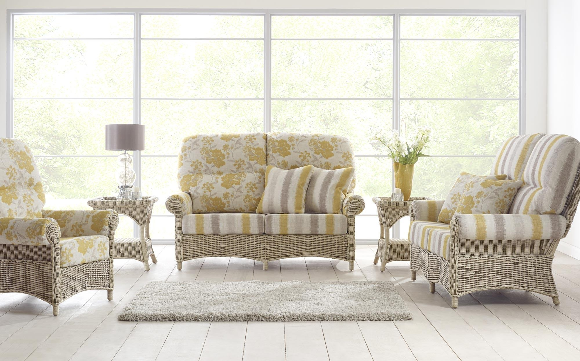 Cane Furniture | Rattan | Wicker |Conservatory Furniture | Vaseys Throughout Cane Sofas (Image 4 of 20)