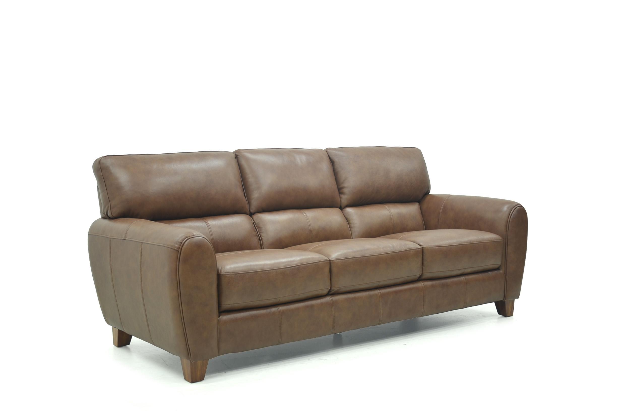 Canterbury Retro Leather Sofa Pertaining To Canterbury Leather Sofas (View 19 of 20)