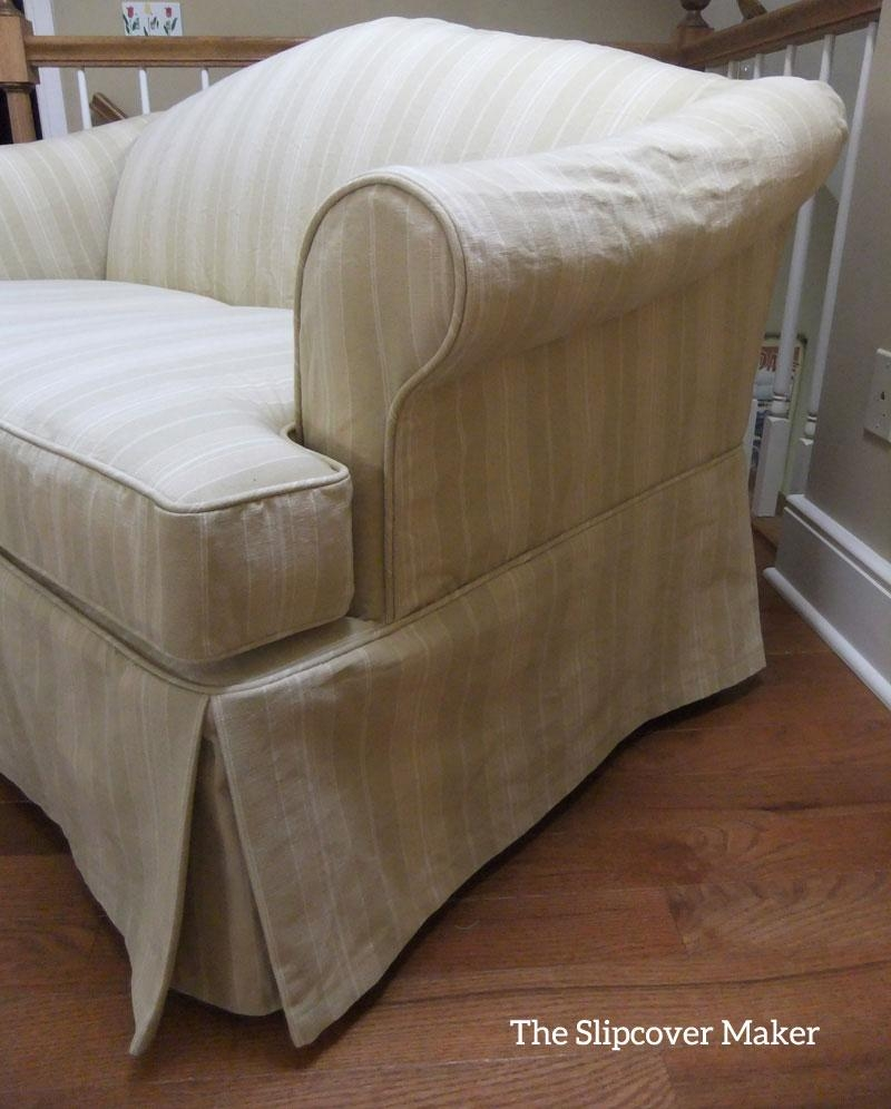 Canvas Slipcovers | The Slipcover Maker | Page 2 Throughout Camelback Slipcovers (View 8 of 20)