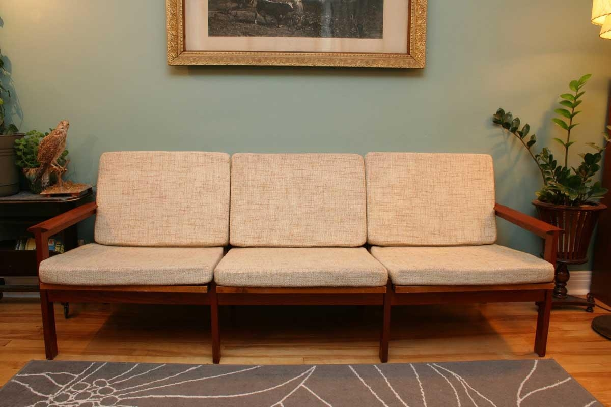 Captivating Grey Couch Sofa Design In Striking Style With Pertaining To Vintage Sofa Styles (View 15 of 20)