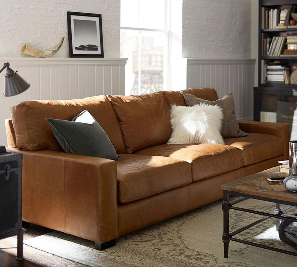 Caramel Leather Sofa Set | Demand Sofas Set With Carmel Leather Sofas (Image 6 of 20)